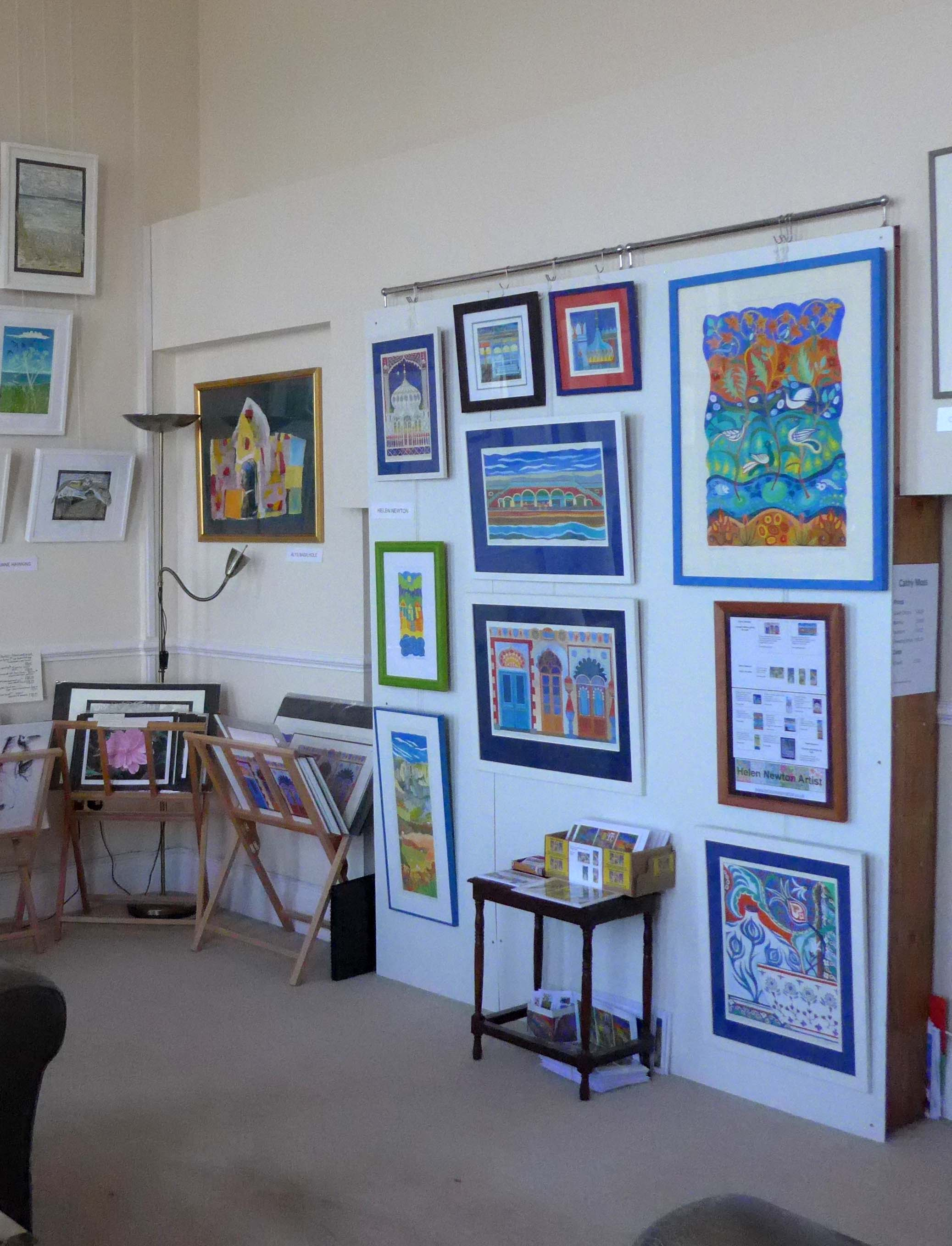 Paintings on Display at Brighton Open Art House