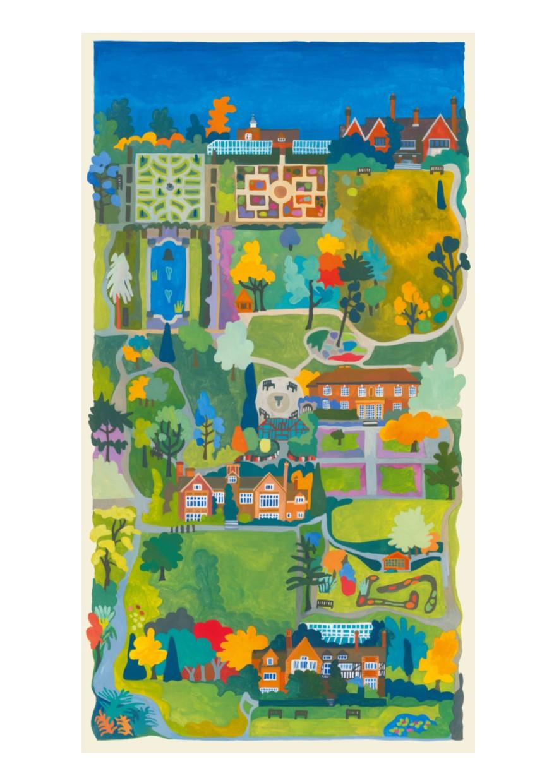 Painting of Botanic Garden - Sold