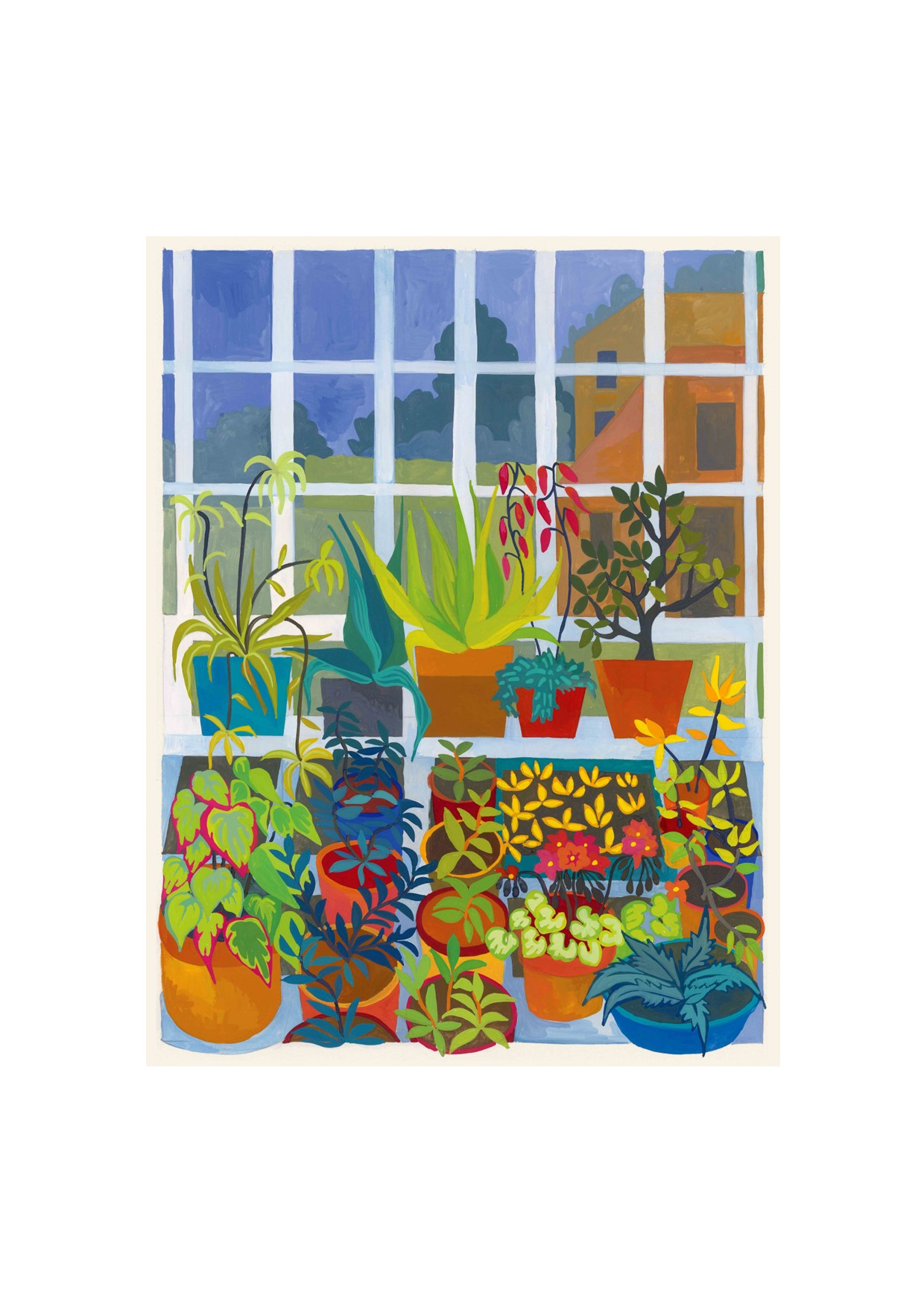 Painting of Greenhouse 2