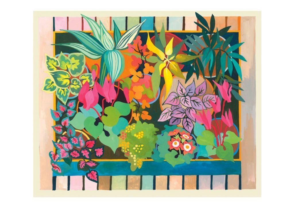 Card of Florist Shop