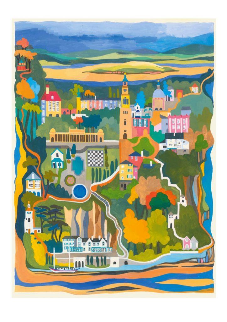 Card of Portmeirion