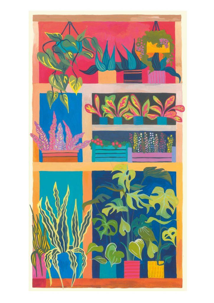 Painting of a Florist Shop No.2